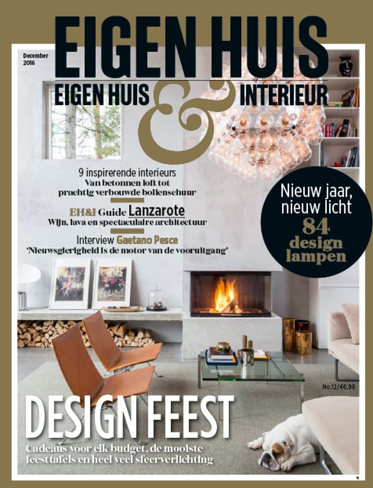 The Legs are featured in the December issue of @eigenhuismag