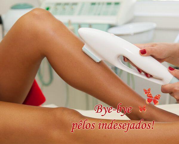 Porque deve fazer a depilação permanente antes do verão