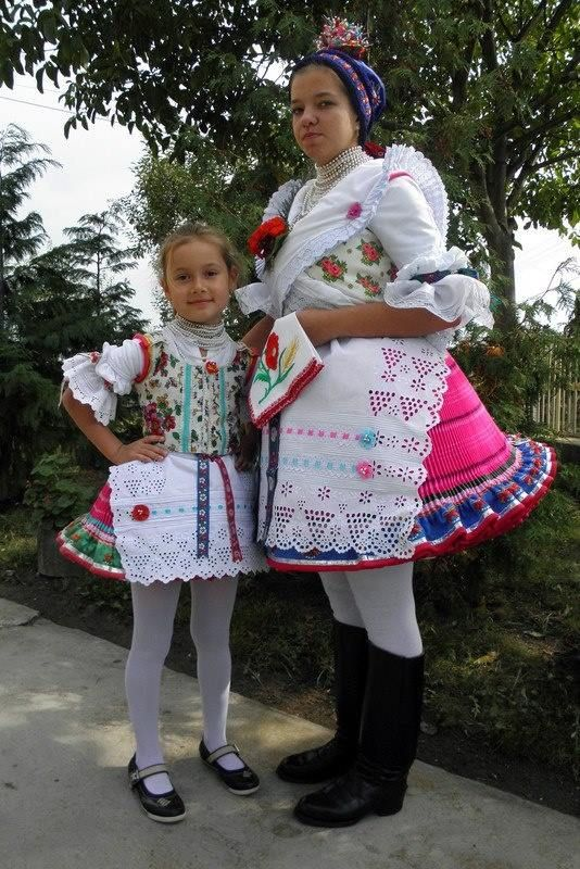 Vestido típico Palóc- de Buják en la cordillera del Norte en Hungría. Hungarian folk costumes, Palóc wear, in Buják in the Northern mountains.