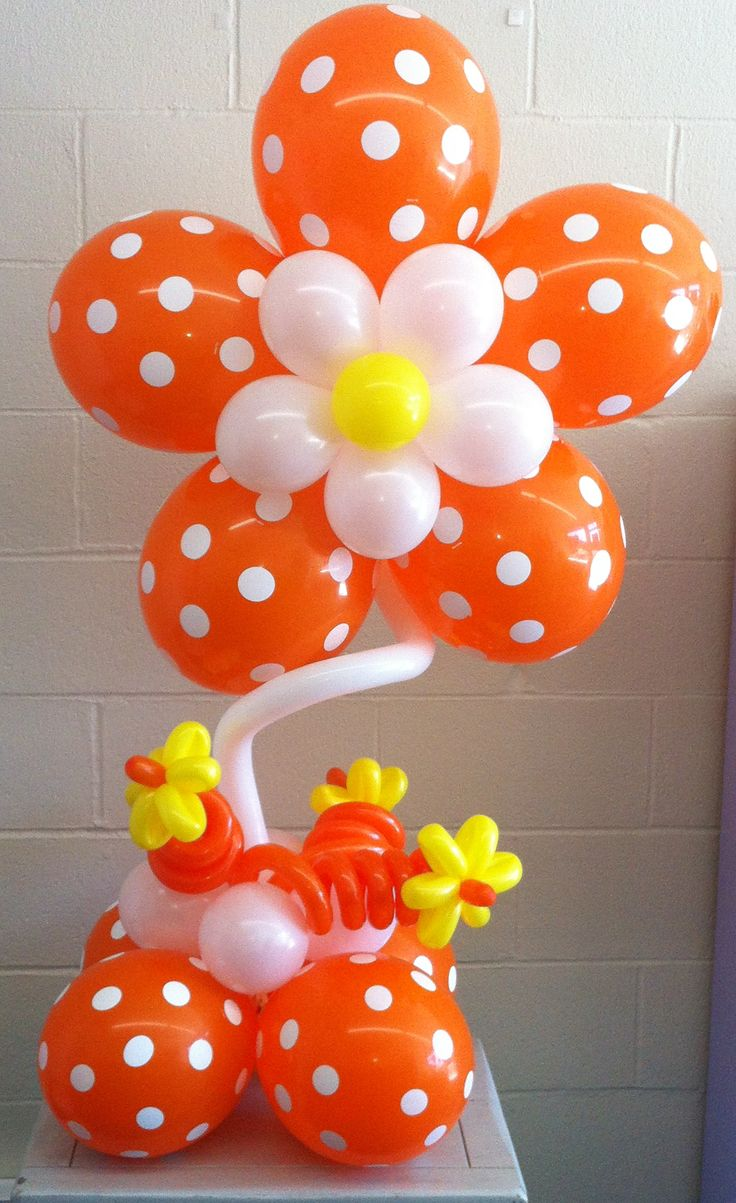 Balloon Flower Wall Decoration : Ideas about balloon flowers on balloons