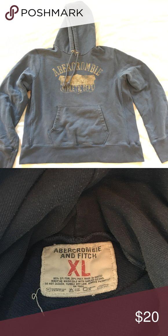 Vintage Abercrombie men's sweatshirt XL Amazing condition Abercrombie and Fitch sweatshirt in an XL. This is vintage! Close to 20 years old. Beautiful blue color. Abercrombie & Fitch Shirts Sweatshirts & Hoodies