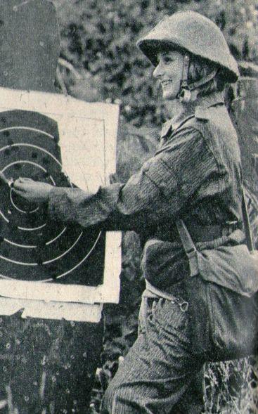 East German female soldier