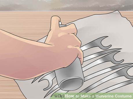 Image titled Make a Wolverine Costume Step 7