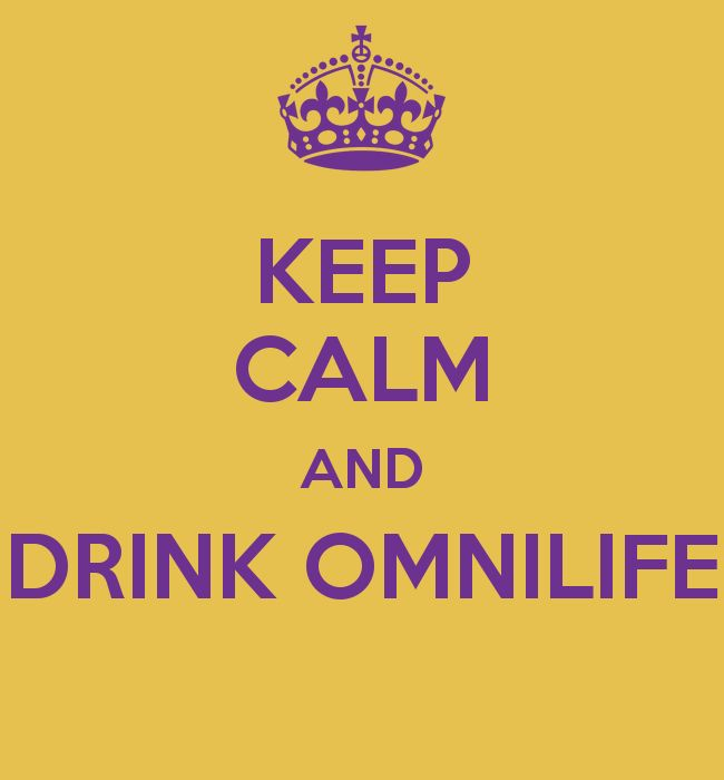 KEEP CALM AND DRINK OMNILIFE