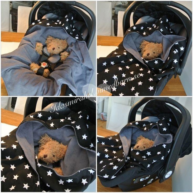 Igår när jag gick in för att kika lite hos fina Elin så hade hon sytt en så fin filt till babyskyddet att jag blev så avundsjuk och var tvungen att göra en jag också! Så idag efter Nyhetsmorgon kastade jag in hunden i bilen och satte kurs mot tygfabriken i Huskvarna för att köpa tyg. Så nu tänkte