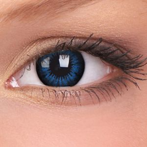 Cool Blue Big Eyes Contact Lenses (Pair) want to see what i look like with blue eyes