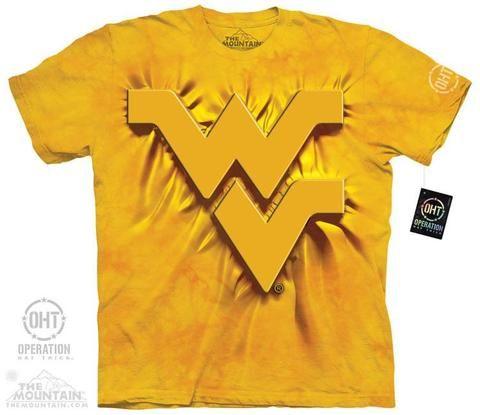 WVU Inner Spirit Yellow - XL