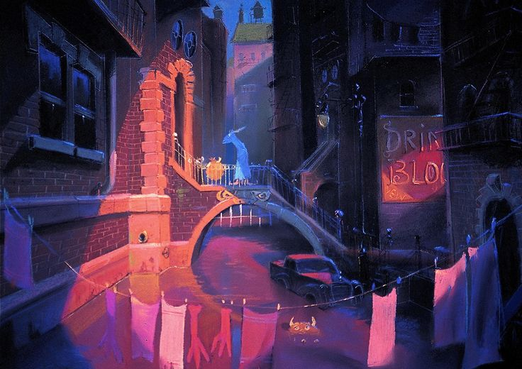 Visual Development from Monsters Inc by Dominique Louis