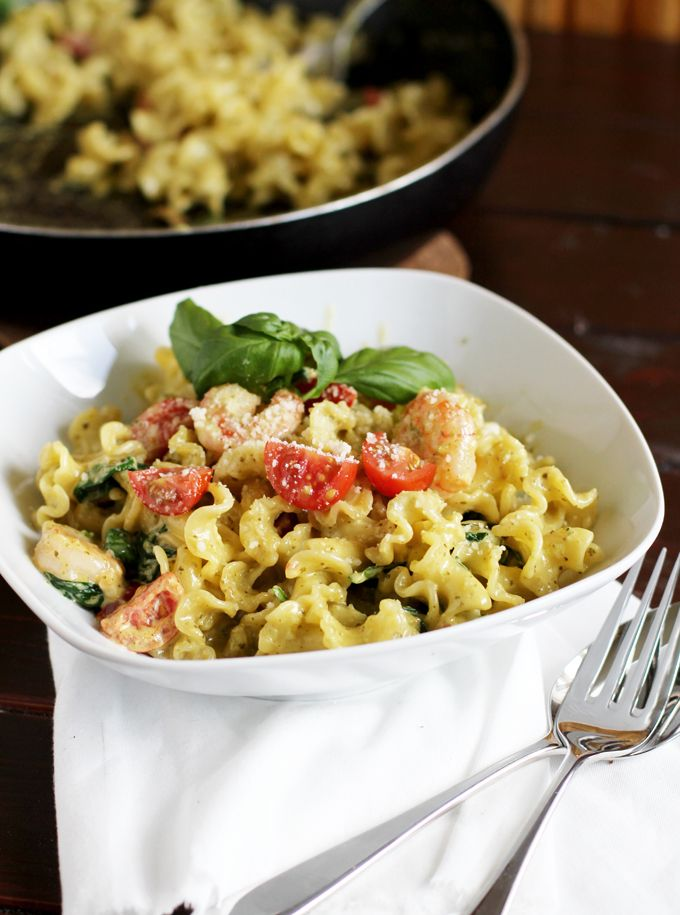 Vapiano Scampi e Spinachi authentix recipe ~ Vapiano Scampi e Spinachi Original Rezept