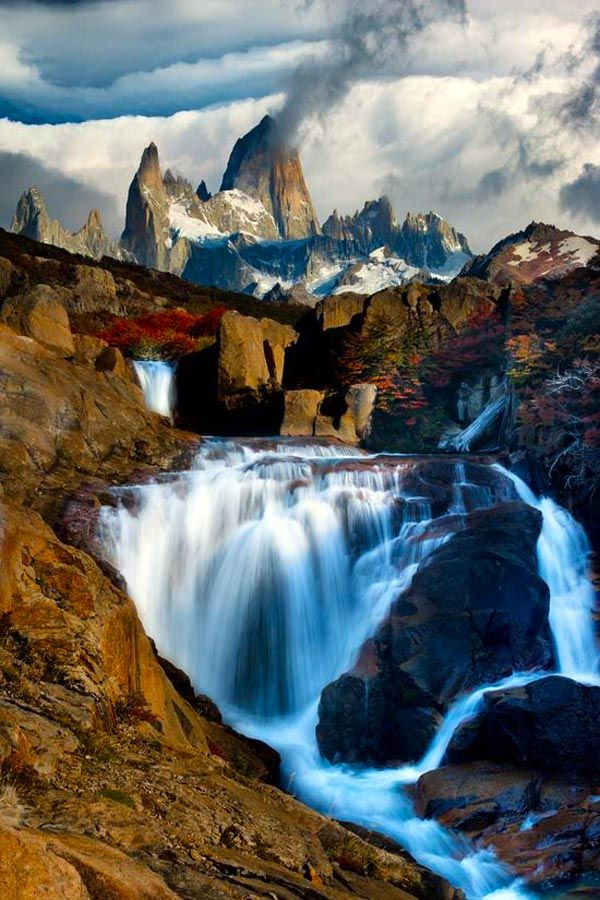 Patagonia Argentina The Smoking Mountain | From @GuessQuest collection