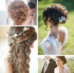 26 modelos de penteado para noiva com cabelo cacheado