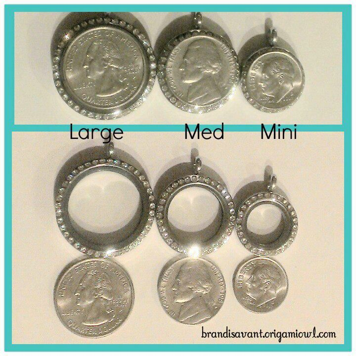 What are the dimensions of Origami Owl bracelets?