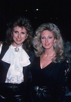 morgan fairchild 1980   Catherine Fairchild and Morgan Fairchild during Morgan Fairchild ...