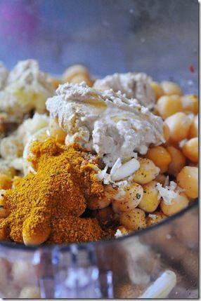 Curried Hummus | Gluten Free | Pinterest