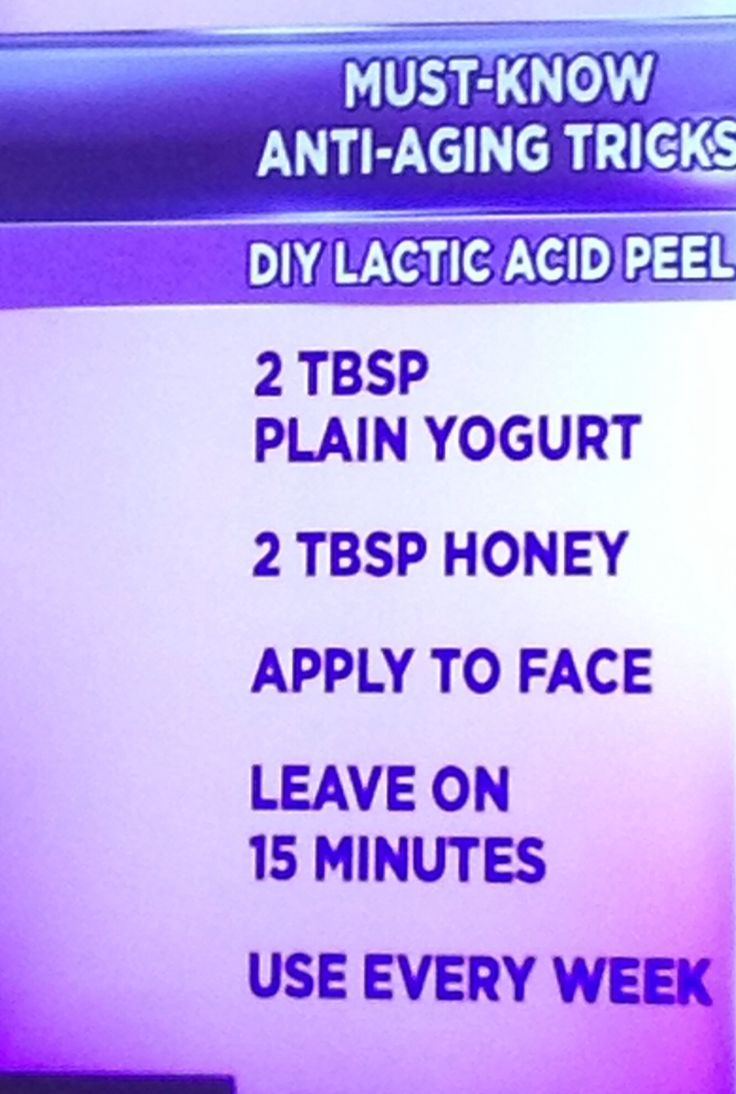 Face peel. Dr oz
