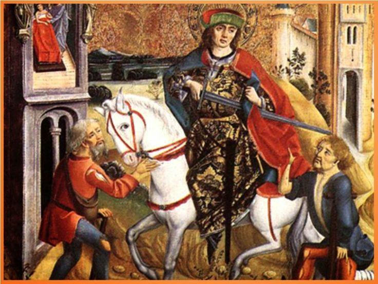 San Martín Caballero,   glorioso y bendito padre de la Providencia,  acudo a ti para solicitar tu poderosa ayuda,  para que mediesant...