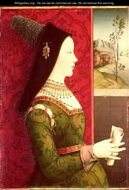 Mary Of Burgundy Daughter Of Charles The Bold Duke Of Burgundy Wife Of  Emperor Maximilian I Of Austria And Mother Of King Philip I Of Spain    Ernst Maler
