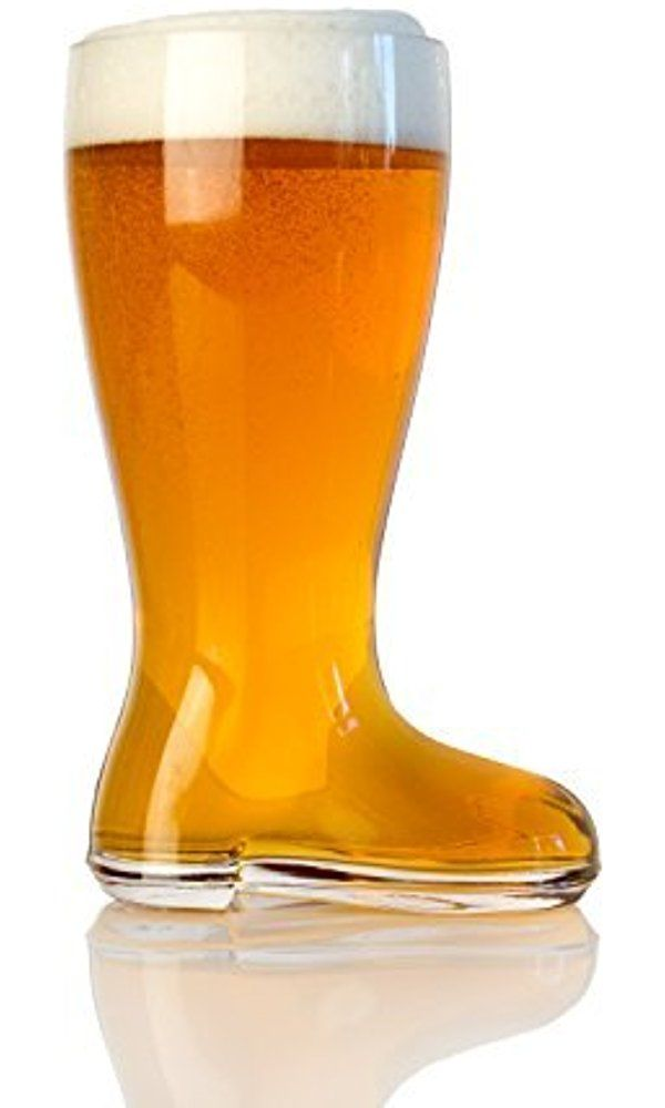 Two Liter Das Boot Beerfest Comedy Movie Drinking Clear Glass Beer Boot Mug