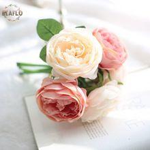 1 пучок 5 головок Шампанское искусственные цветы круглый розовый букет Свадебные Главная Декоративные Craft(China (Mainland))