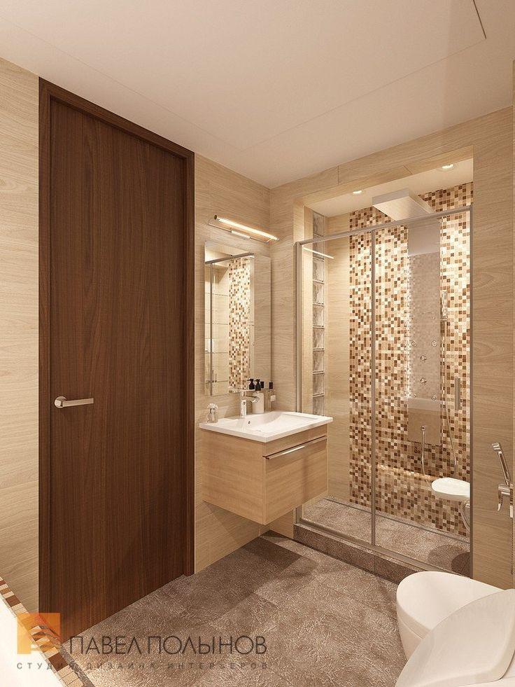 Фото: Дизайн интерьера ванной комнаты - Квартира в современном стиле с элементами лофта, ЖК «Эдельвейс», 102 кв.м.