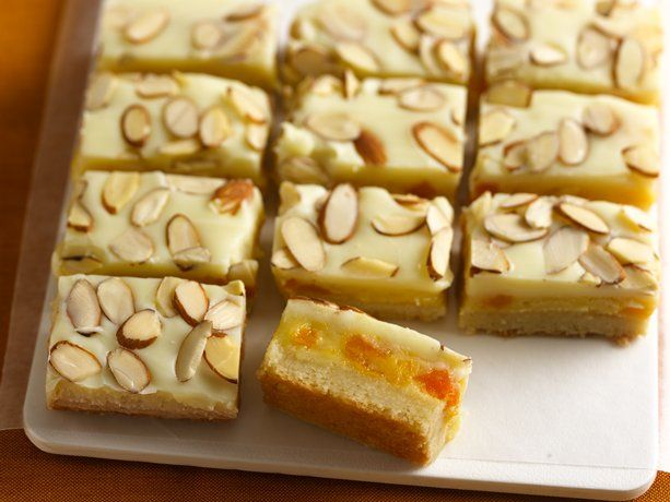 Almond, Apricot and White Chocolate Decadence Bars Prize-Winning ...