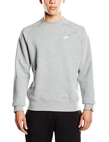 Nike Aw77 Crew Sweat-shirt Homme Dark Grey Heather/Dark Grey Heather/White FR : L (Taille Fabricant : L) Nike http://www.amazon.fr/dp/B010HEDMG2/ref=cm_sw_r_pi_dp_mdyJwb1JCHF01