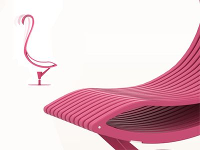 Flamingo is an ergonomic chair, ideal to get your work done more confortably. featured in polypropylene plastic this chair is framed by twelve plane sections inspired on the flamingo form, attached...