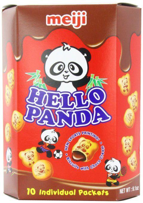 Meiji Hello Panda Chocolate Biscuit, 9.01 Ounce: Amazon.com: Grocery & Gourmet Food