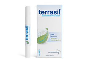 My son had warts on both hands that the dermatologist tried everything to get rid of. We tried the Terrasil Max (They didn't have the wart stick then.) All of the warts were completely gone in no time with no pain or discomfort. This stuff is gold! I HIGHLY recommend for any skin condition.