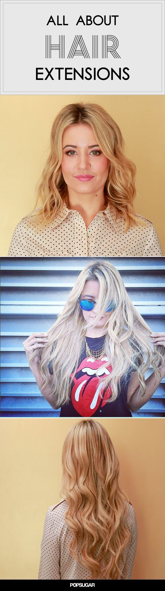 Everything you need to know about keratin bond hair extensions