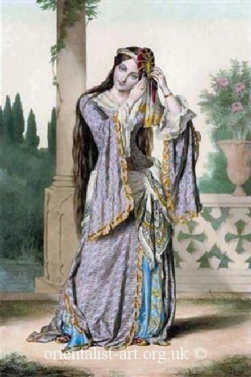 another fun 19th century ottoman dress