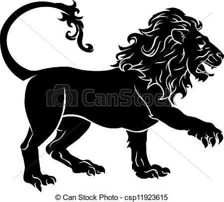 Vector - Stylised Lion