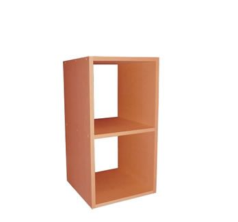 Youcube Double Cube shelving options