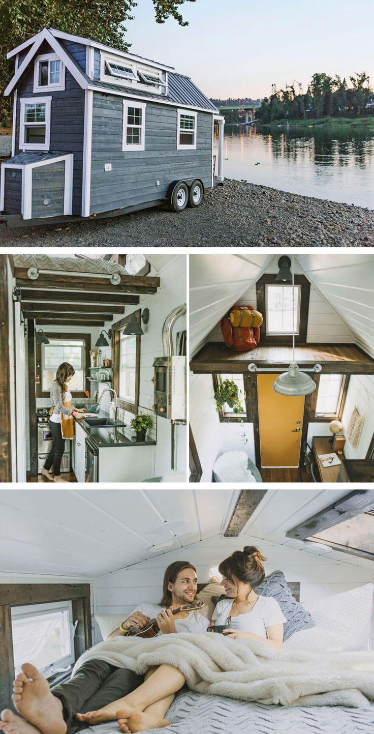 Tiny houses, petites maisons aménagement espace