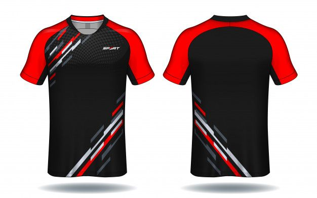 Download Soccer Jersey Template Sport T Shirt Design Premium Vector Sports Tshirt Designs Sport Shirt Design Polo Shirt Design