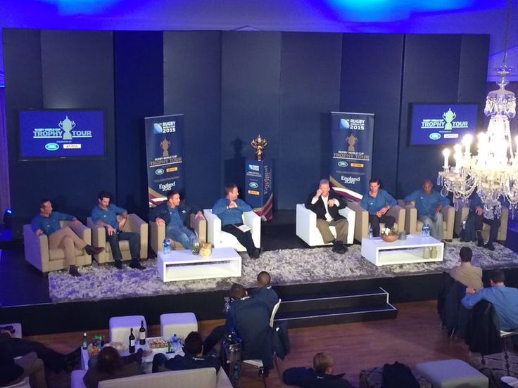 Rugby World Cup Trophy Tour at Kelvin Grove, Cape Town