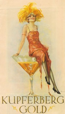 These producers weren't afraid of using beautiful 1920s fashion to sell their Sparkling.