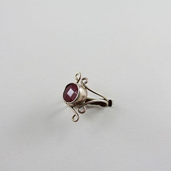 Yeşim Taşlı Yüzük (Silver Ring with Jade stone) - ZFRCKC Jewelry Design - www.zfrckc.com