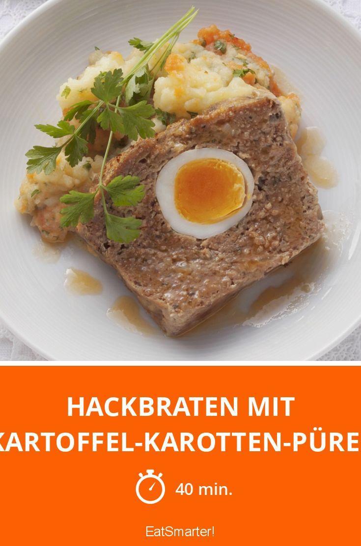 Osterei im Osterbraten: Sieht nicht nur gut aus sondern schmeckt auch richtig gut!