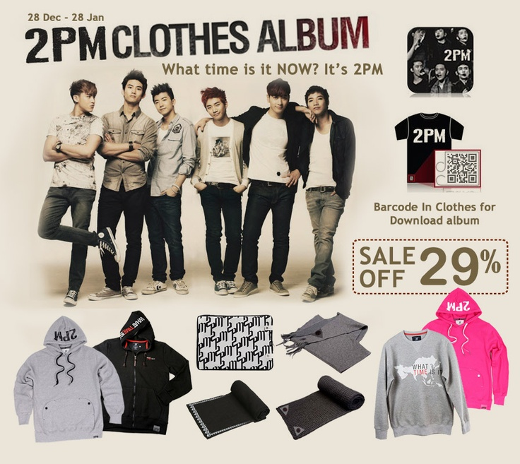 Yes24.com Indonesia - 2PM Clothes Album