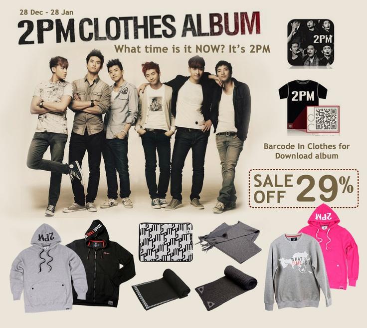 Yes24.com Indonesia - 2PM Clothes Album