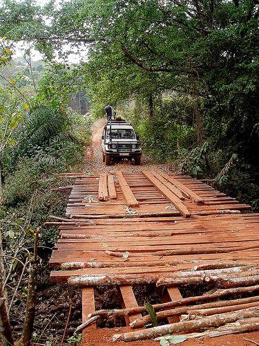Central African Republic - bridge