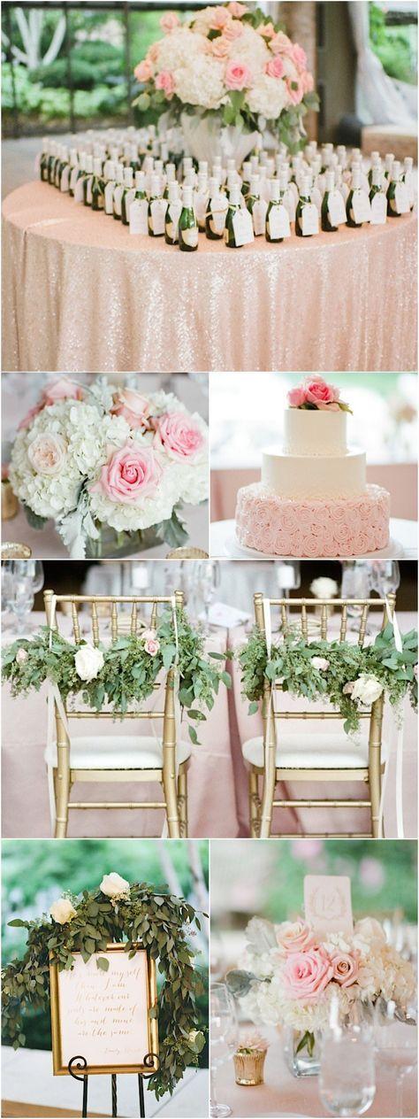 photo: Tamara Gruner Photography; Gorgeous pink wedding reception idea
