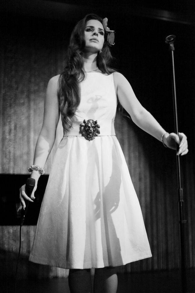 Lana Del Rey's vintage style