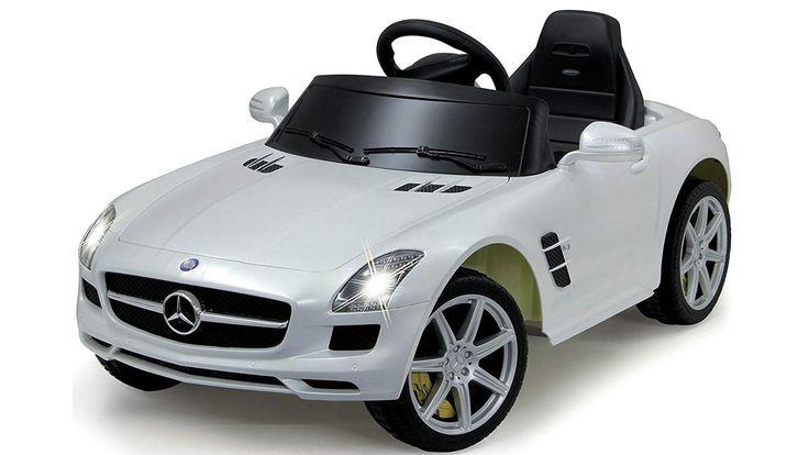 Der Spielzeugtester hat das Jamara 404610 – RC Ride-on Mercedes Benz SLS AMG, weiß angeschaut und empfiehlt es hier im Shop. Ich versuche alle Produkte immer selbst zu testen. Aufgrund der Vielzahl der Artikel kann ich das leider nicht alles selber machen. Aber ich erstelle täglich Videos v… – Spielzeugtester