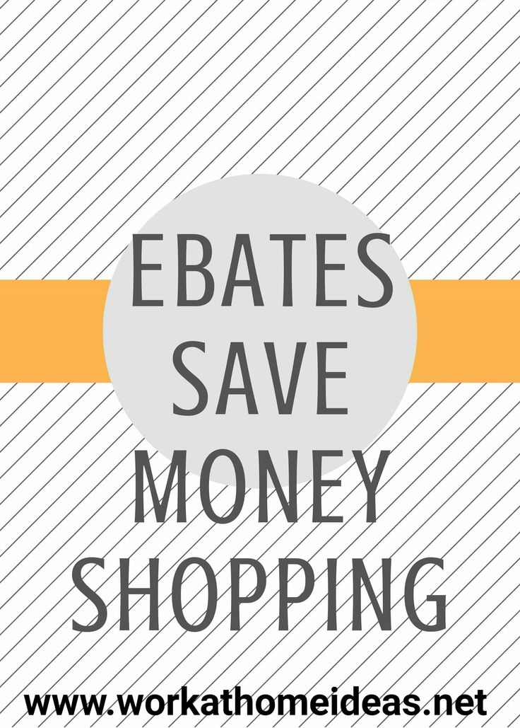 I am happy to share this excellent way to save money & even earn extra income! This is a brief overview of Ebates. Put simply: Shop through Ebates at your favorite stores. Earn Cash Back on your purchases. Receive a Big Check! See the Ebates site here. You will be using Work At Home Ideas …