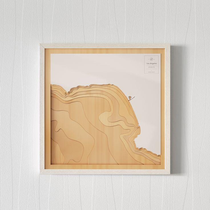 Los Angeles map  California, USA