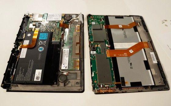 Sony Xperia Tablet S gets the full teardown, shows its NVIDIA heart: Tablet News, Sony Xperia, Gadgets, Xperia Tablet, Sony Stuff, Full Tear Down, Full Teardown