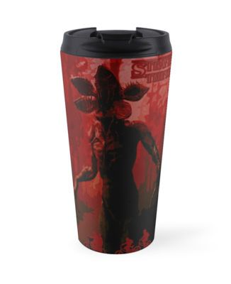 Stranger Things Travel Mug by scardesign11 #stranger_things #strangerthingstravelmug #TraveMug  #buycooltravelmug #coffeelovers #geektravelmug #strangerthingspillow  #disappearance #boy #netflix #paranormal #xfiles #x_files_mystery #strange #odd #spooky #supernatural #thriller #sciencefiction #scifi #sci_fi #winona_ryder #scary #monster #cooltshirts #horrorposter #buycoolposters #pop #culture #80s #style #retro