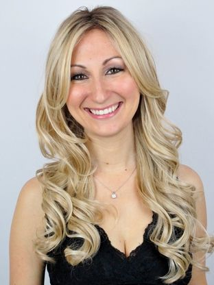 Alexa Lace Front Monofilament Wig with Roots in Vanilla Bean-R.
